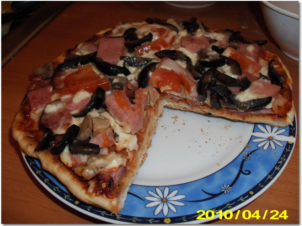 Pizza la tigaie